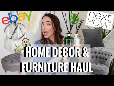 HUGE HOME DECOR & FURNITURE HAUL | EBAY, IKEA, NEXT HOME | CIARA O DOHERTY