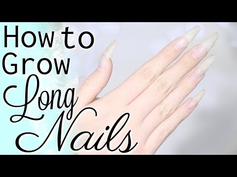 How to Grow Long Nails 💅🏼 Long Nail Care Routine