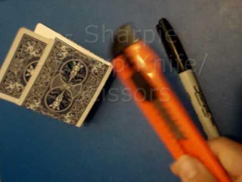 Card/Deck Holder TUTORIAL
