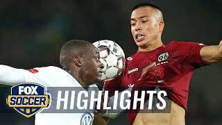 Hannover 96 vs. VfL Wolfsburg | 2018-19 Bundesliga Highlights