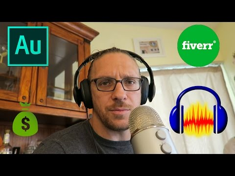 How to Record a Voice Over and Make Money on Fiverr