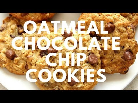 Oatmeal Chocolate Chip Cookies Recipe