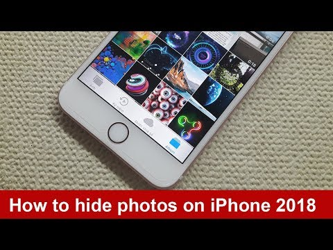 How to hide photos on iPhone 2018