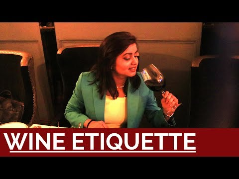 How to Drink Like a Lady - Wine Etiquette   Personality Development