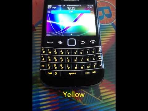 Blackberry Keyboard Colours