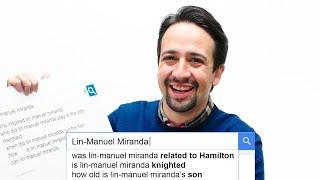 Lin-Manuel Miranda Answers the Web