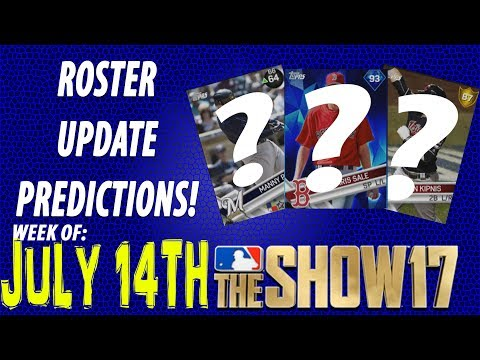 MLB The Show 17 Roster Update Predictions July 14th