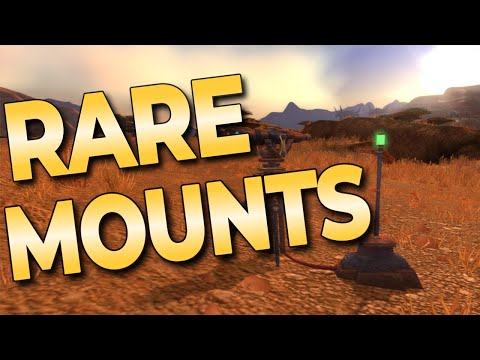 How to get all archaeology Mounts