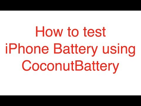 How to Test iPhone and Mac Battery using Coconut Battery [EASY]