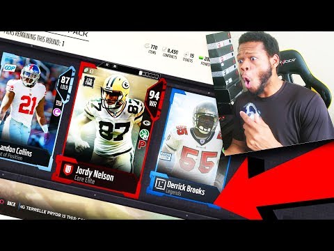 IMPOSSIBLE PACK! LEGEND AND LIMITED PULL!!!?- Madden 18 Ultimate Team