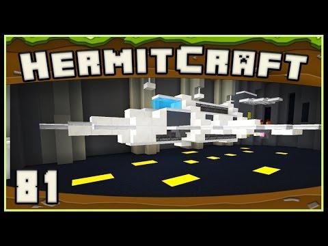 HermitCraft 4 - Minecraft: Building The Starship GoodTimes