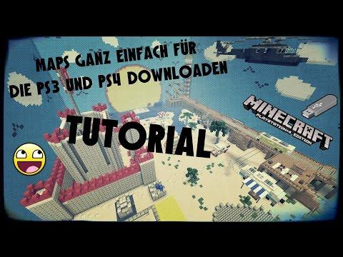 Minecraft ✪ Tutorial ✪ Maps ganz EINFACH für die PS3 und PS4 Downloaden ✪ German ✪ OkrimZockt
