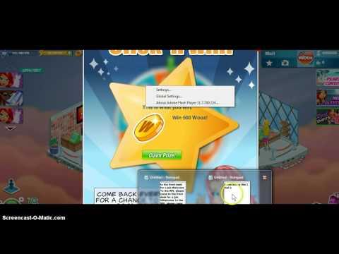 I won 500 wooz on woozworld
