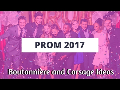 Best Boutonniere and Corsage for Prom 2017   Unique Prom Corsages