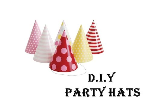 Easy Tutorial -  DIY Party Hats | DIY Craft for Children | Party Special