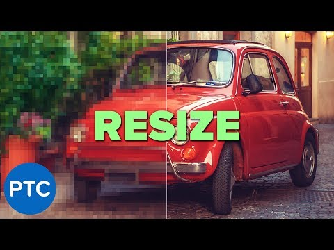 BEST WAY To Resize Photos & Illustrations Without Losing Quality in Photoshop | MUST-KNOW Technique