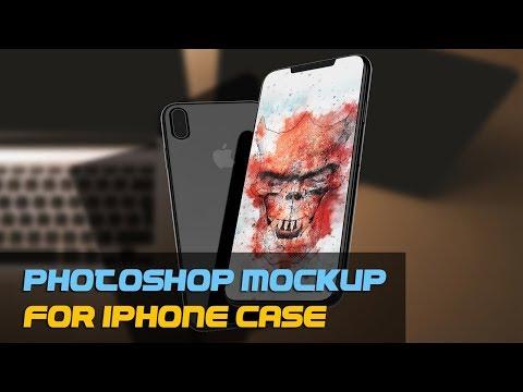 How to Change iPhone Case Using Photoshop Mockup