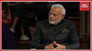 PM Narendra Modi Exclusive Townhall Interview In London | Bharat Ki Baat, Sabke Saath Part 1