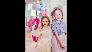 Nastya and her Birthday Party 7 years old. #shorts