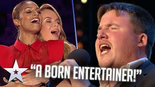 BORN ENTERTAINER gets the party started! I Auditions I BGT Series 9