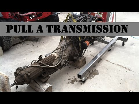How to Pull An XJ Cherokee Transmission (Bleepinjeep Reference Video)