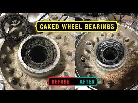 Re-grease 2017 KTM wheel bearings