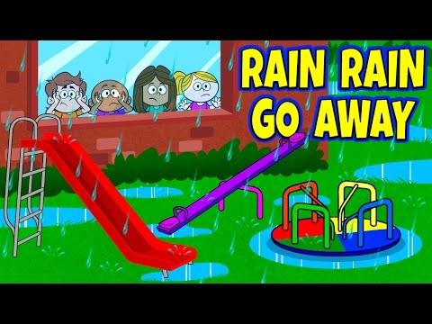 Rain Rain Go Away Nursery Rhyme with Lyrics - Nursery Rhymes - Kids Songs by The Learning Station
