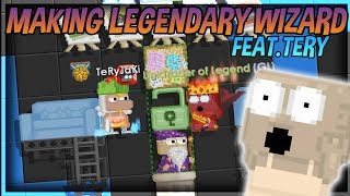 I GOT LEGENDARY WIZARD IN THIS VIDEO ! Feat.Tery [OMG]│Growtopia