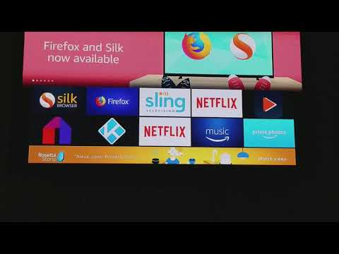 How to install Fire Fox and Silk Web Browser on your Fire TV Stick