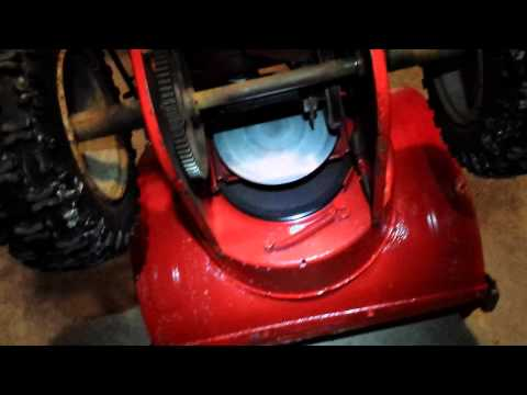 How to change the auger belt on an MTD snowblower