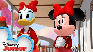 Happy Helpers Valentine's Day Party!💞| Mickey Mouse Roadster Racers | Disney Junior
