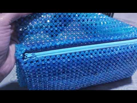 How To Make a Simple Beaded Purse Bag