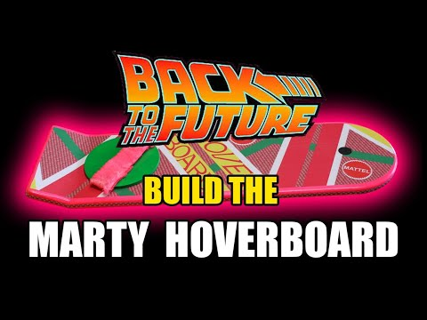 How to make a DIY MARTY Back to the Future Hoverboard Prop Replica!!