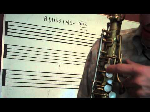 Saxophone_Altissimo Fingerings High F#