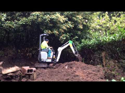 Bobcat E10 / 418 Micro Digger Excavator  Bagger Pelle Graver