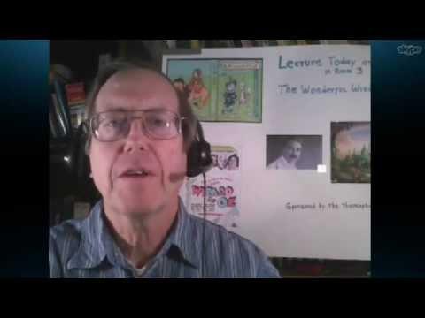 The Wonderful Wisdom of OZ FREE class with Wayne Purdin