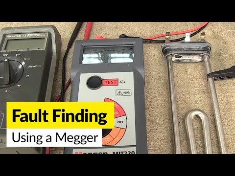 How to use a Megger to Identify a Faulty Component