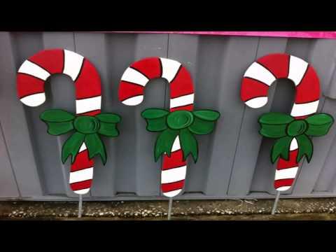 Diy Christmas Lawn Decorations Wood