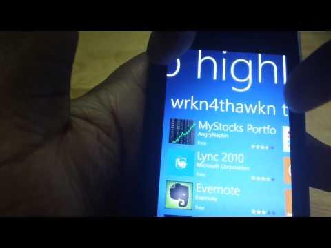 app highlights for Lumia 710 800 900