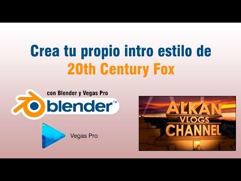 Tutorial: Crear intro estilo 20th Century Fox en 1080p Full HD | Blender | Sony Vegas Pro 11/12/13