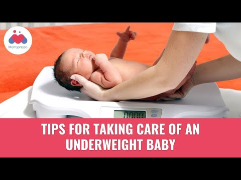 Taking Care Of An Underweight Baby - Newborn Care