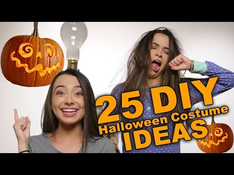25 DIY Halloween Costume Ideas - Merrell Twins