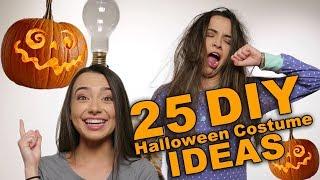 25 DIY Halloween Costume Ideas - Merrell Twins halloween 2018