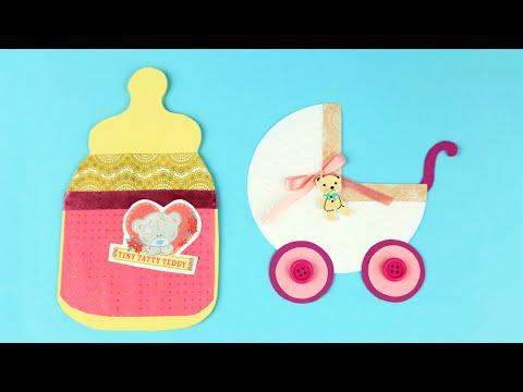 DIY Baby Girl Card Ideas