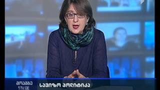 მაია ფანჯიკიძე - ვიზა-ლიბერალიზაციის გეგმა საქართველოს ივანიშვილის პრემიერობის დროს გადმოეცა