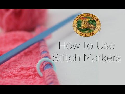 How to Use a Stitch Marker and Why They're Useful in Knit & Crochet