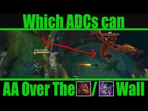 ADCs That Can AA Baron/Dragon Behind Pit