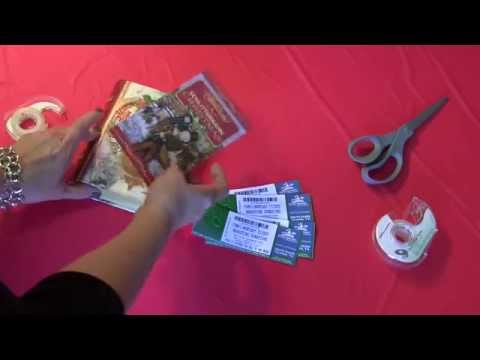 How to Wrap Tickets - From your friends at Schlitterbahn