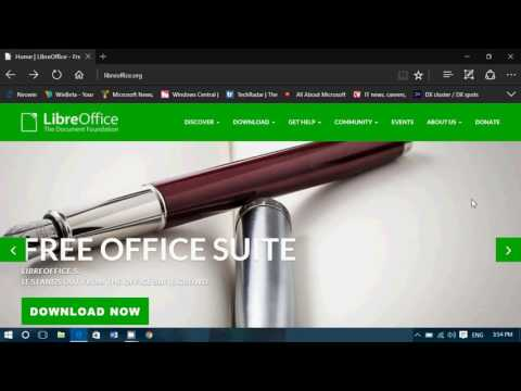 Free Microsoft Office Alternatives Libre office open source for Mac OS X Linux and Windows