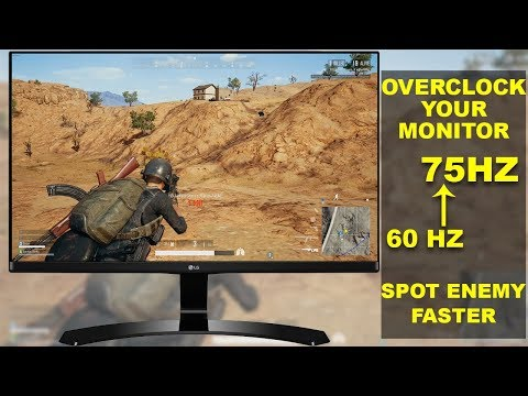 How To Overclock Your Monitor 60 Hz To Higher Refresh Rate without Any Damage to Monitor
